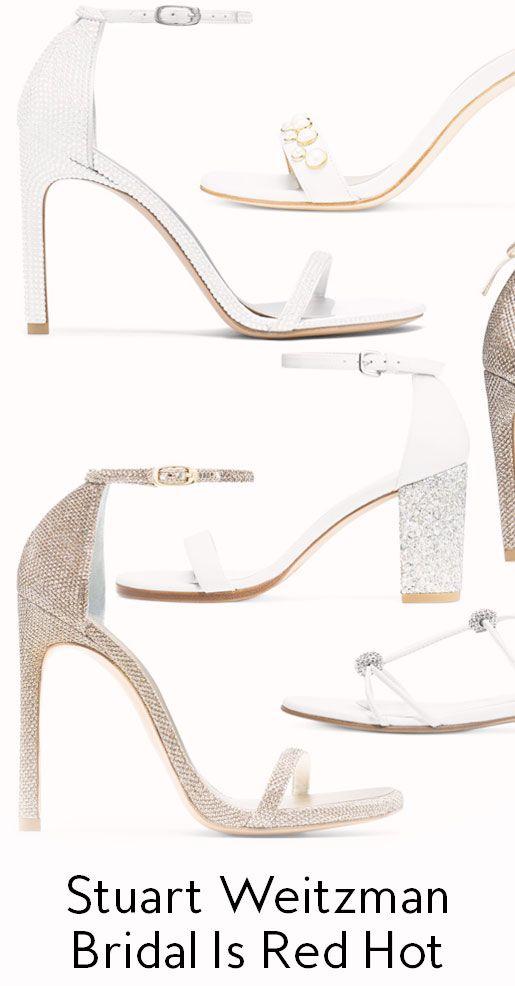 Stuart Weitzman Has The Best Bridal Shoes Stuart Weitzman Bridal Best Bridal Shoes Stuart Weitzman