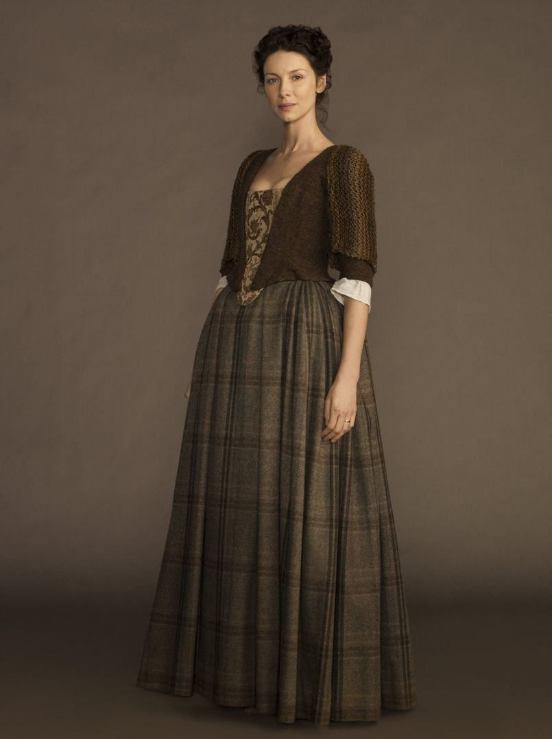 Claire S Clothes On Outlander
