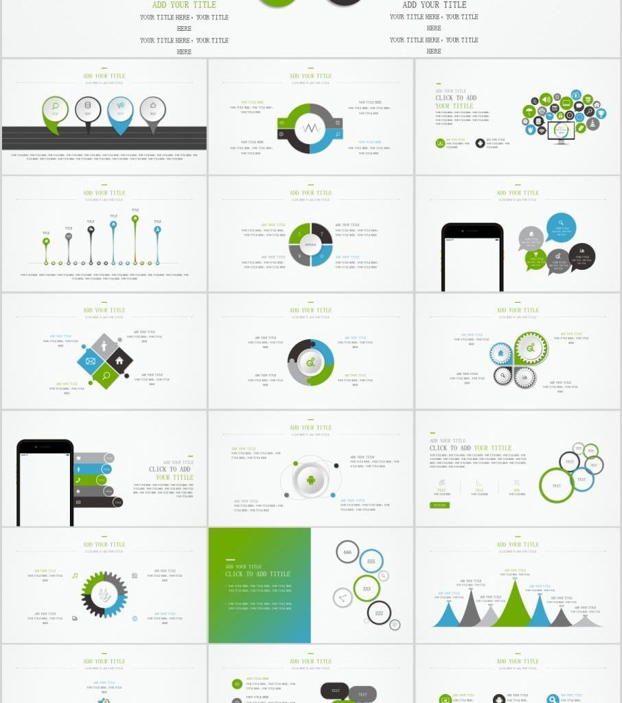Best charts PowerPoint template   powerpoint템플릿