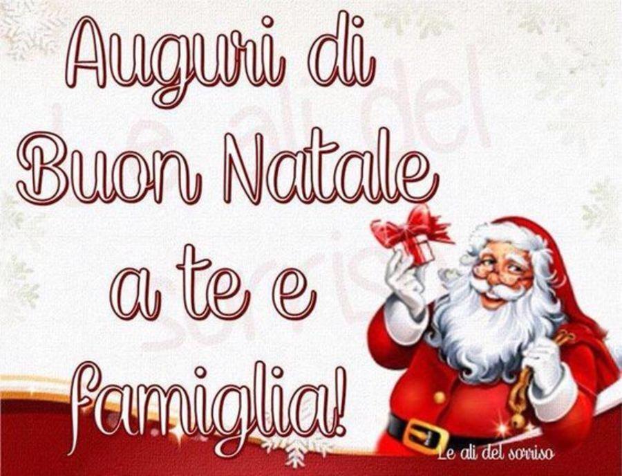 Auguri Di Natale Per La Famiglia.Auguri Di Buon Natale A Te E Famiglia Buon Natale Merry