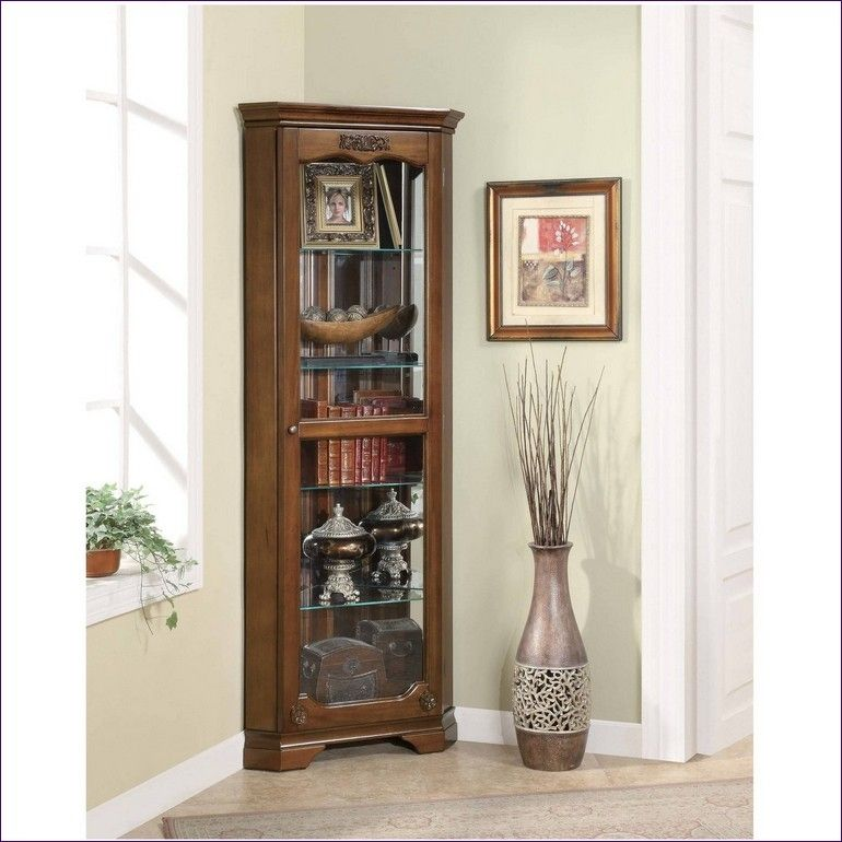Kitchen Room Marvelous Corner Courier Cabinet Looking For A Curio