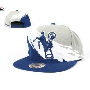 f6f49eb6f Mitchell & Ness Indianapolis Colts Paintbrush Snapback Hat ...