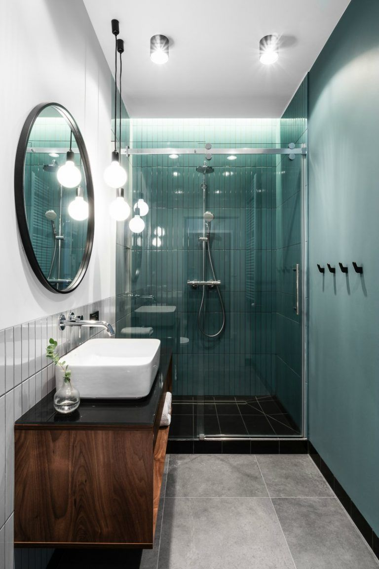 Moderno, masculino y elegante. Vivir en solo 38 m2 en ...