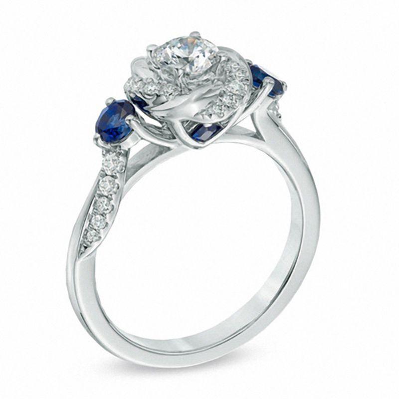 11++ Vera wang wedding rings blue sapphire information