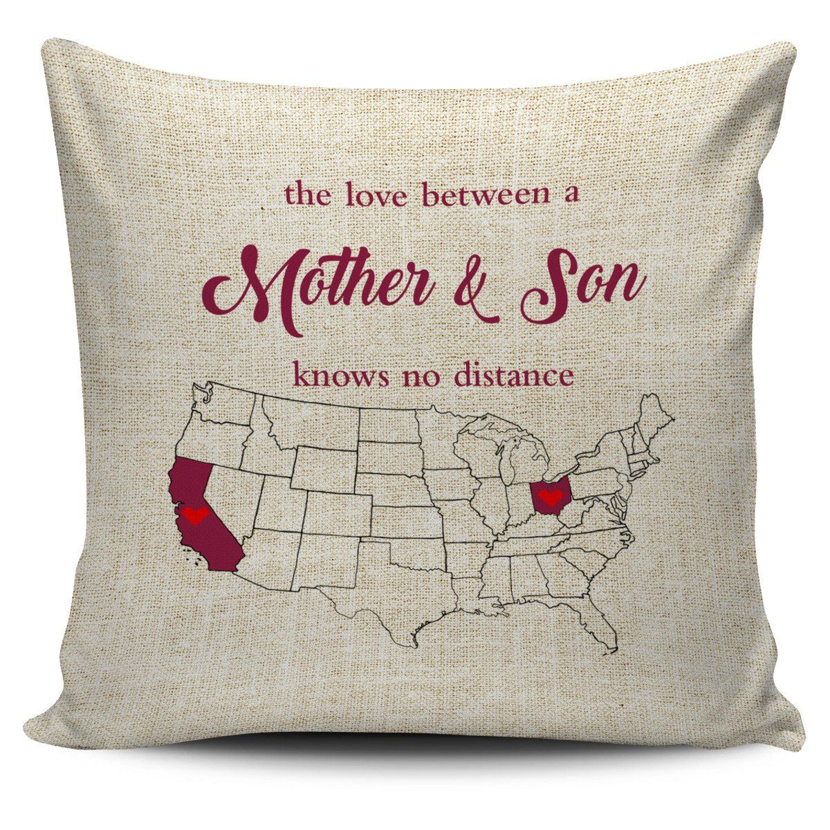 Ohio California The Love Between A Mother And Son Knows No Distance