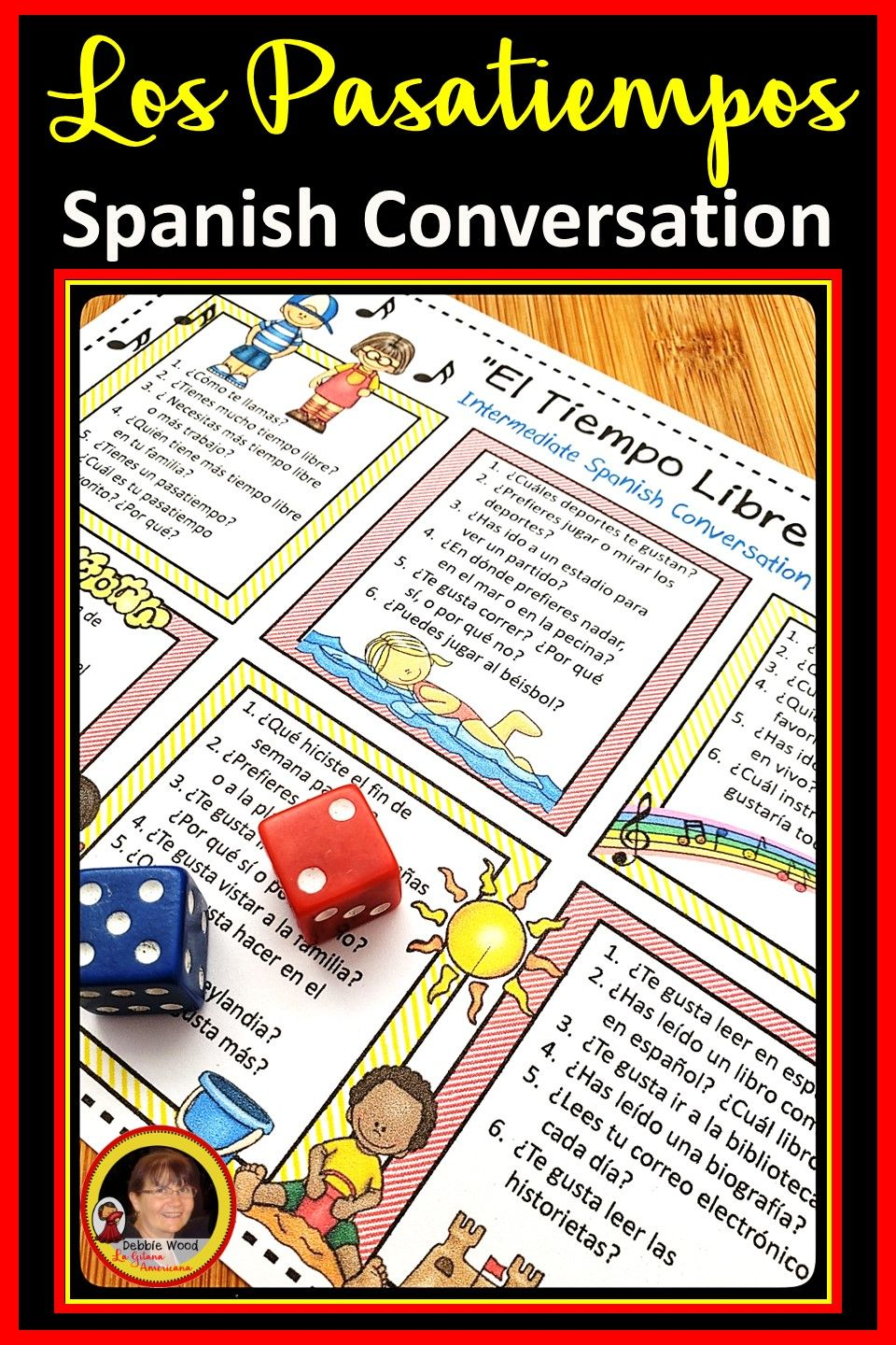 Are You Looking For Engaging Spanish Conversation Activities Help Your Ms And Hs Students Stay In The Targe Spanish Conversation How To Speak Spanish Spanish