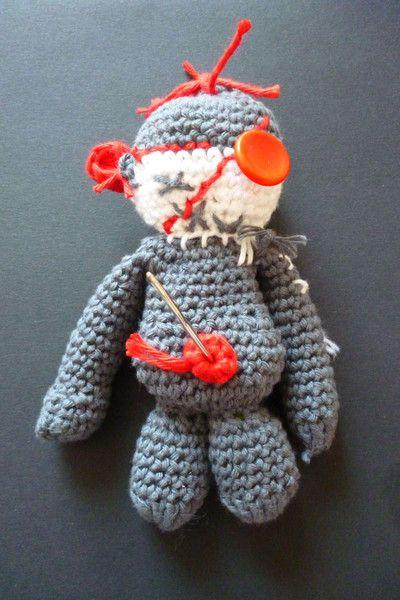 Voodoo Puppe Gehäkelt Fantasie Häßlich Von Linie63 Auf Dawandacom
