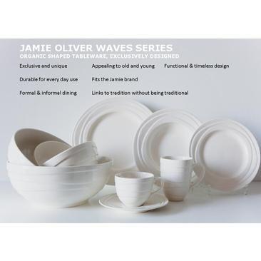 Jamie oliver  sc 1 st  Pinterest & Pin by Jessie Jansen on Jamie Oliver Servies Waves   Pinterest ...