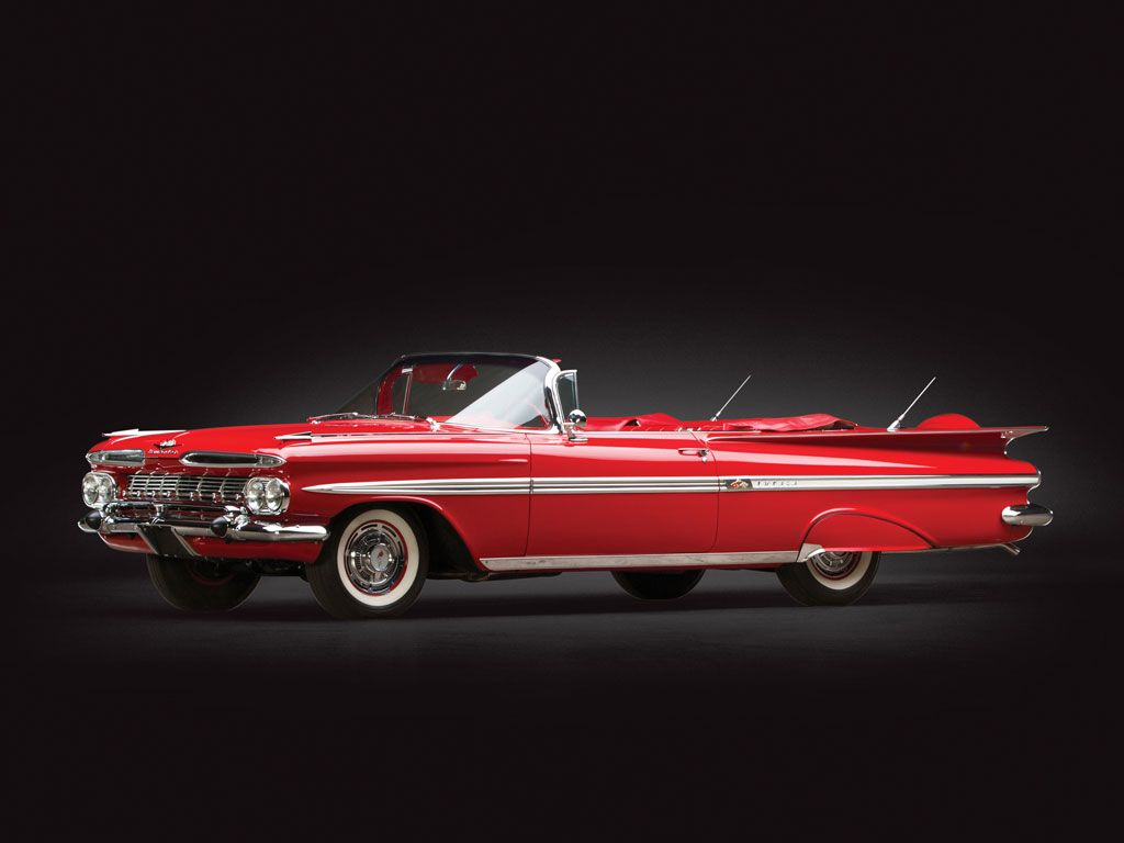 1959 Chevrolet Impala Convertible Sam Pack Collection 2014 Rm Auctions American Classic Cars Chevrolet Impala Classic Cars