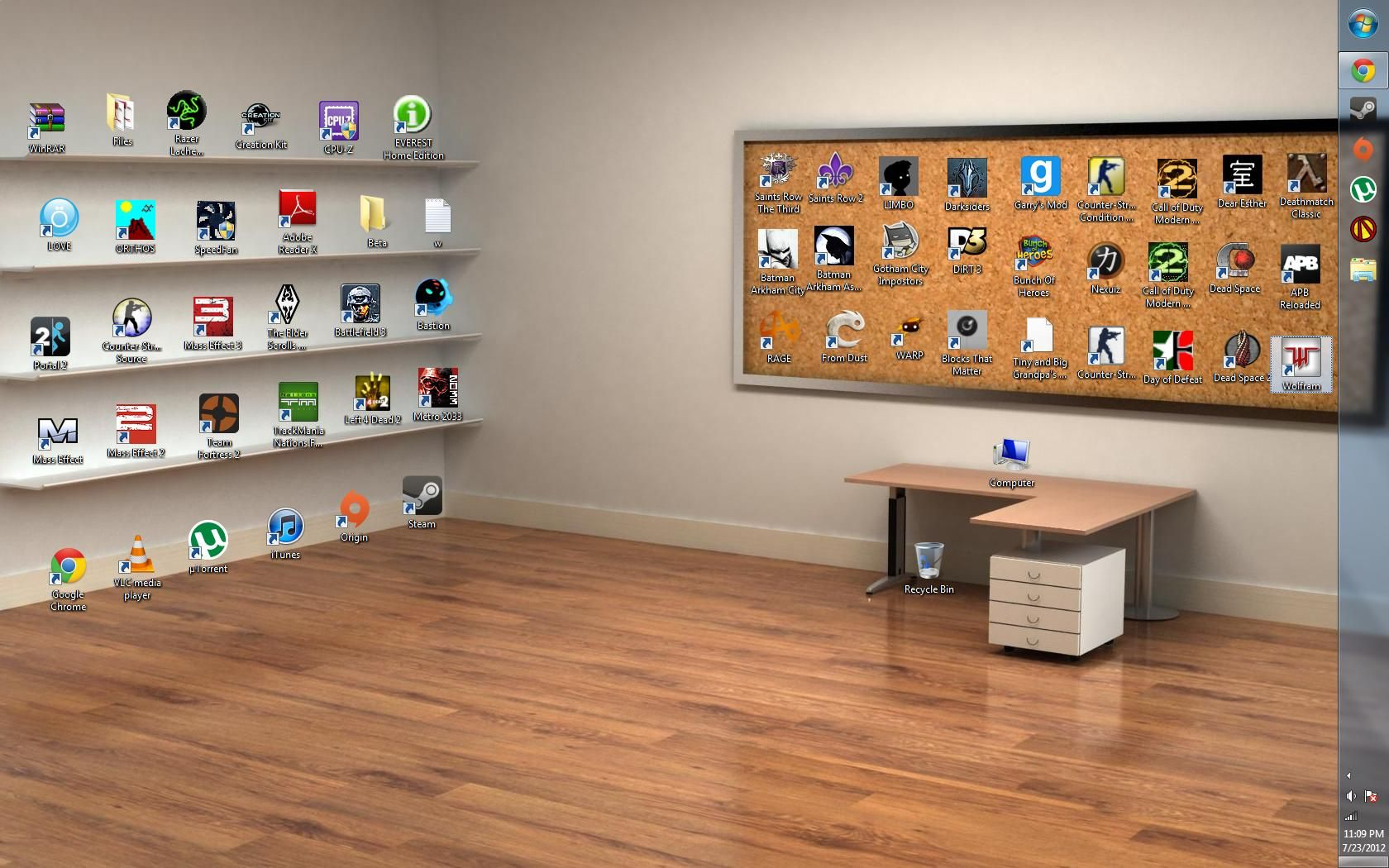 Best An Awesome Way To Manage Desktop Icons Wallpaper 400 x 300