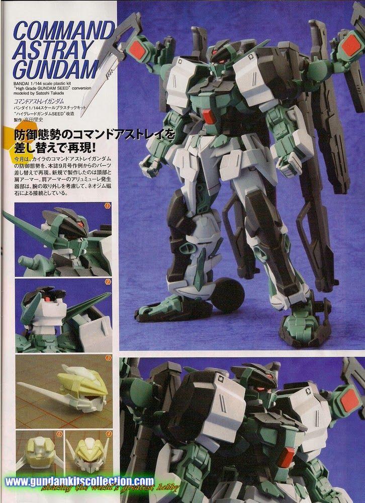 Custom build 1144 command astray gundam gundam gundam