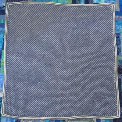 Tadley\'s Diagonal Blanket, free double-ended crochet pattern by ...