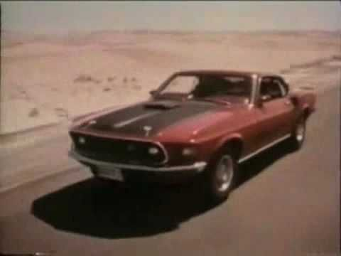 Muscle Car Commercials From 1969 You