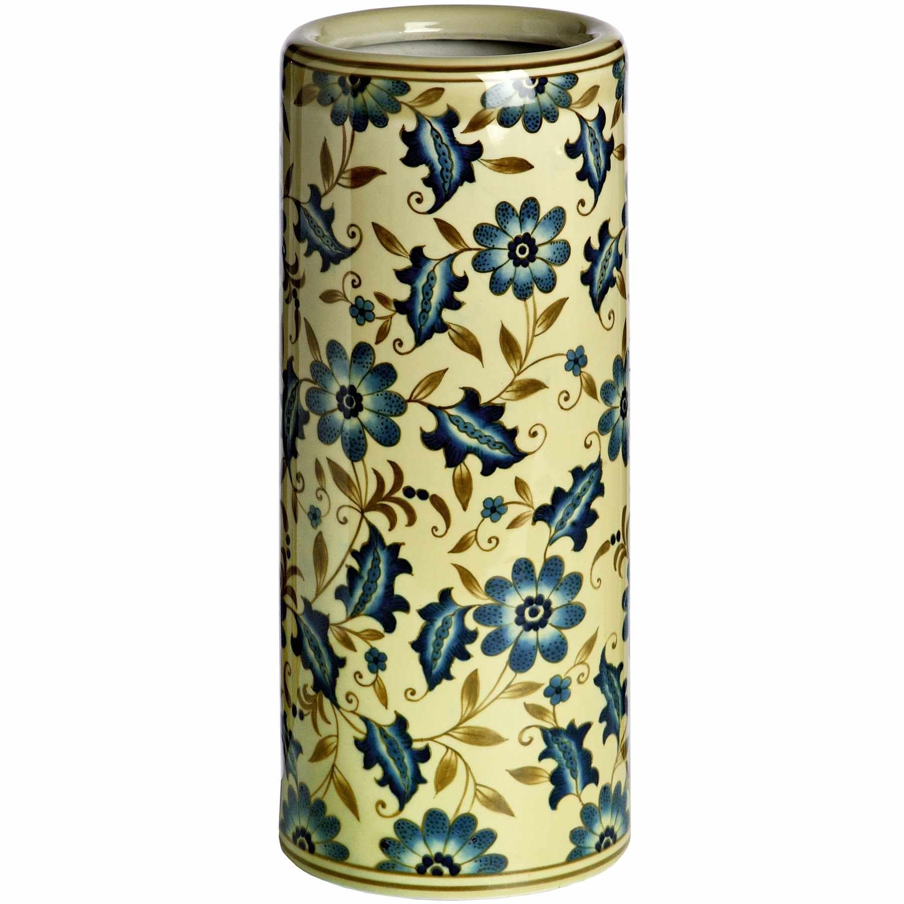 Blue Floral Umbrella Stand £39.99 Blue Floral Umbrella