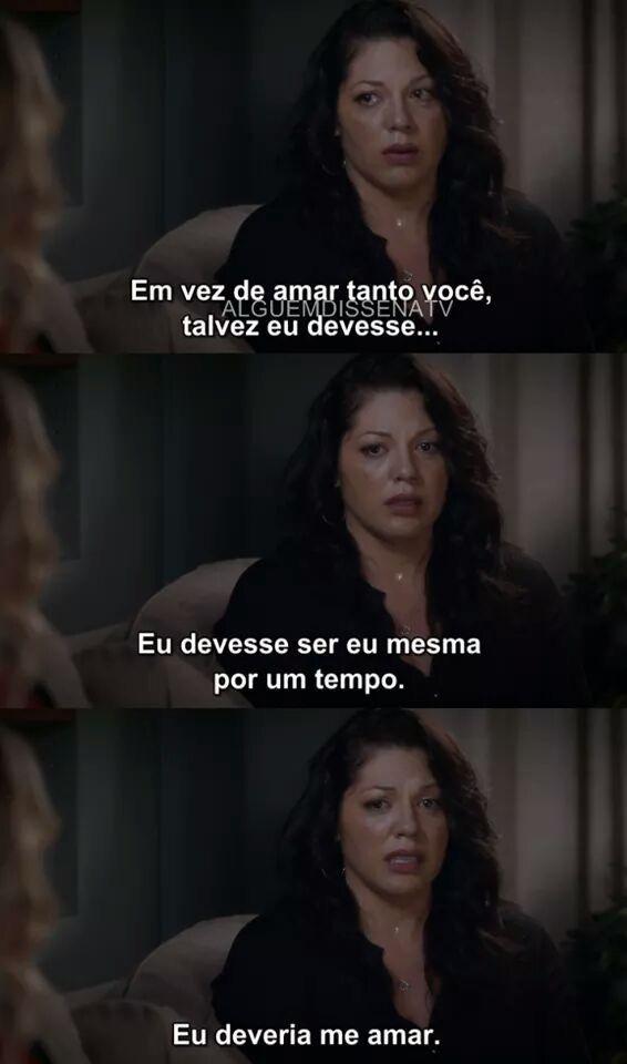 Callie Greys Anatomy Em 2019 Frases Séries Frases De