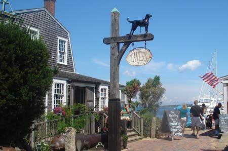 The famous Black Dog Tavern on Martha's Vineyard...