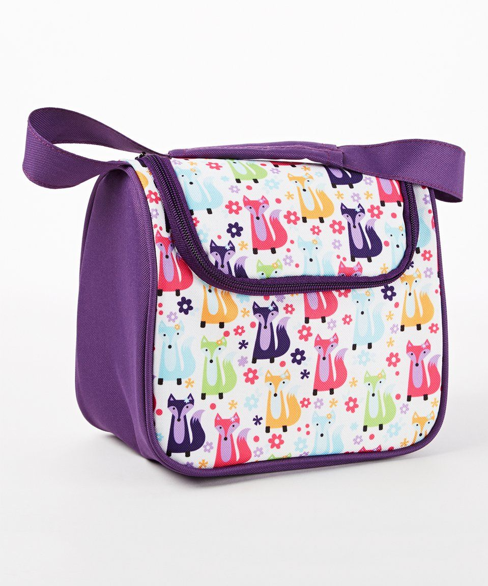 Take a look at this Foxy Meadow Insulated Lunch Bag