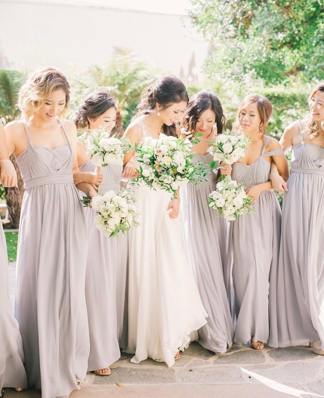 Convertible aidan bridesmaid dresses in mineral luxe chiffon by convertible aidan bridesmaid dresses in mineral luxe chiffon by jenny yoo ombrellifo Choice Image
