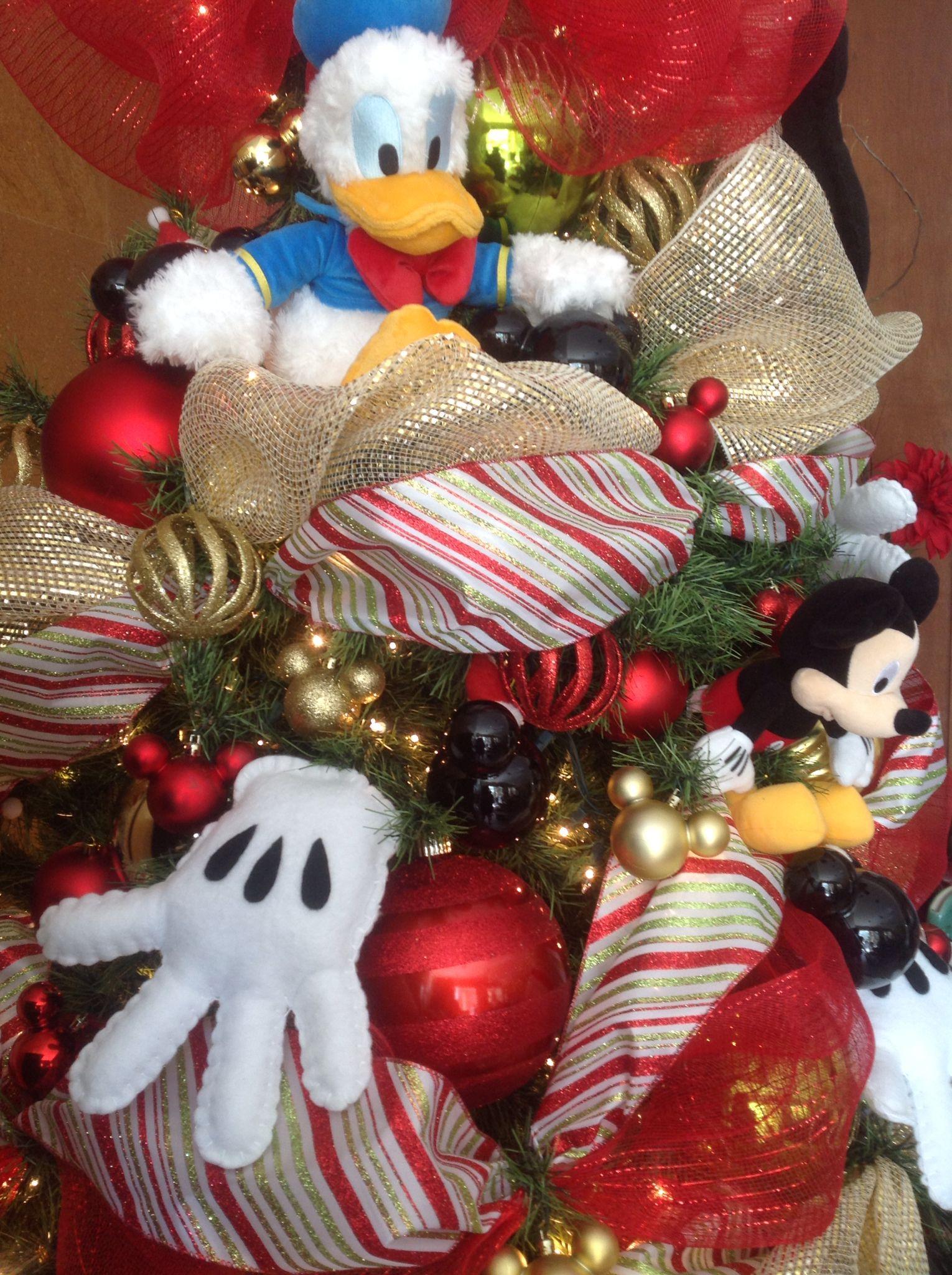 Mickey mouse rbol navidad arbol de navidad for Adornos navidenos mickey mouse