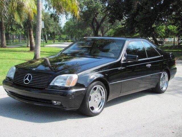 1997 Mercedes Benz S600 V12 Coupe Mercedes Benz Benz