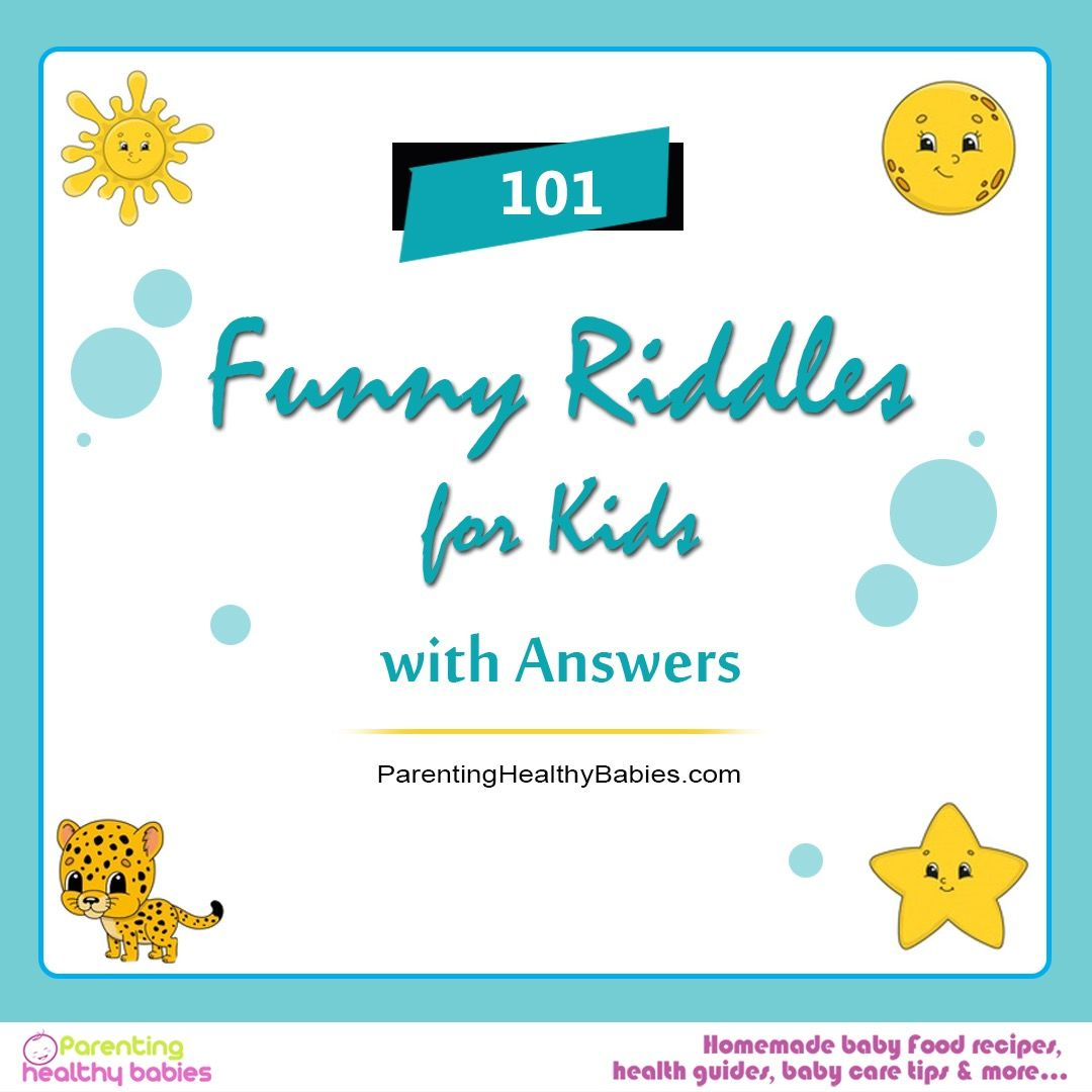 101 Funny Riddles For Kids With Answers