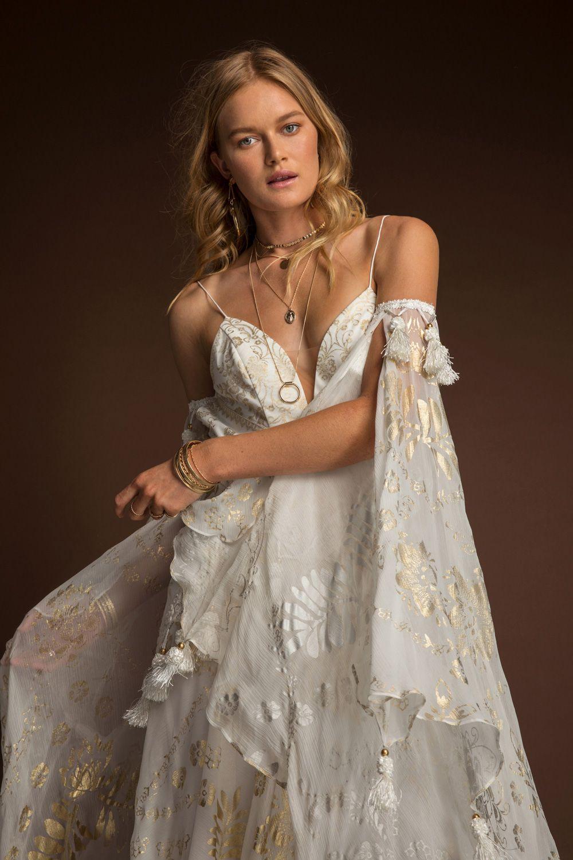 Nahla gown rue de seine gypsy glam pinterest wedding dresses