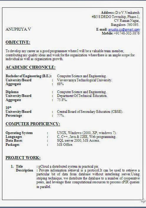 biodata sample doc Sample Template Example of Excellent