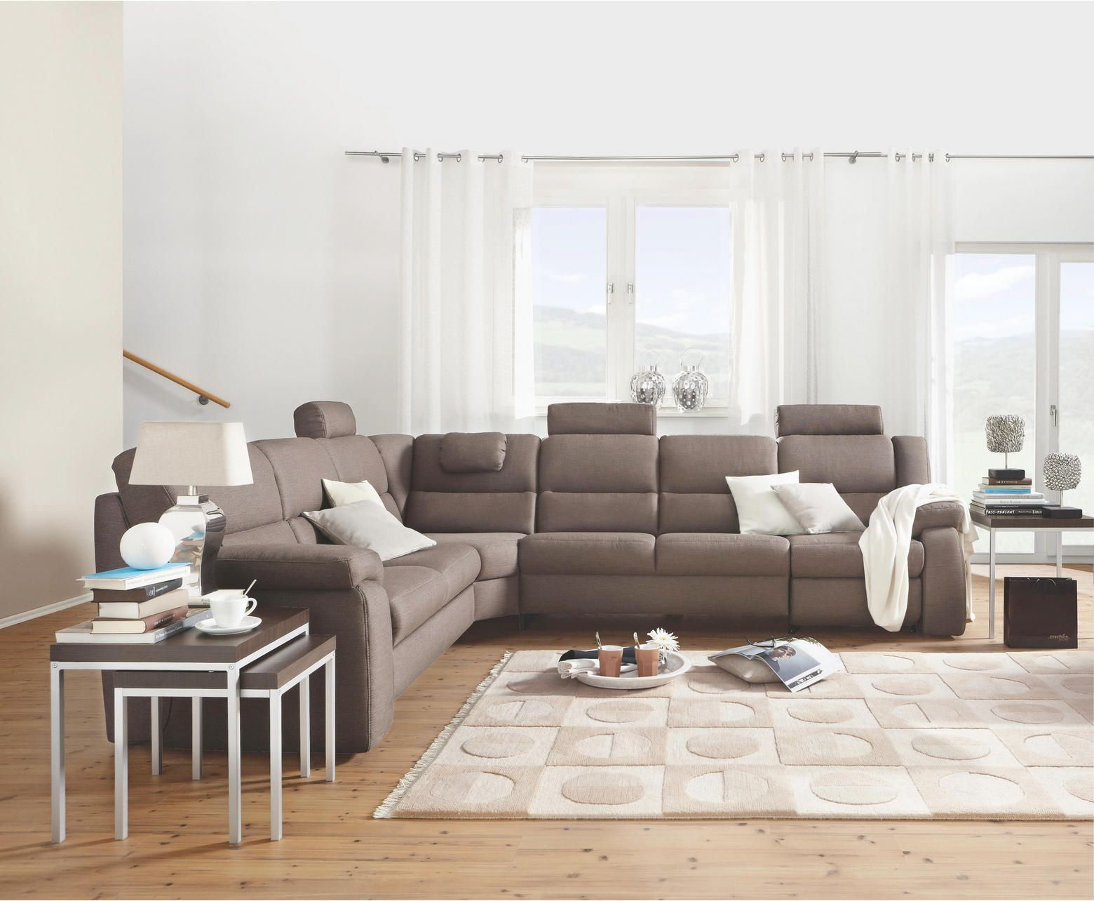 Bettsofa Timeo Wohnlandschaft In Grau Von Time Your Style Sofas Couches