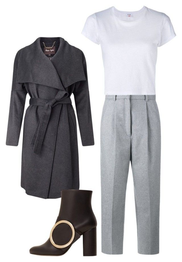 """Winter comfort"" by shonakhan on Polyvore featuring Phase Eight, Acne Studios, RE/DONE and MANGO"
