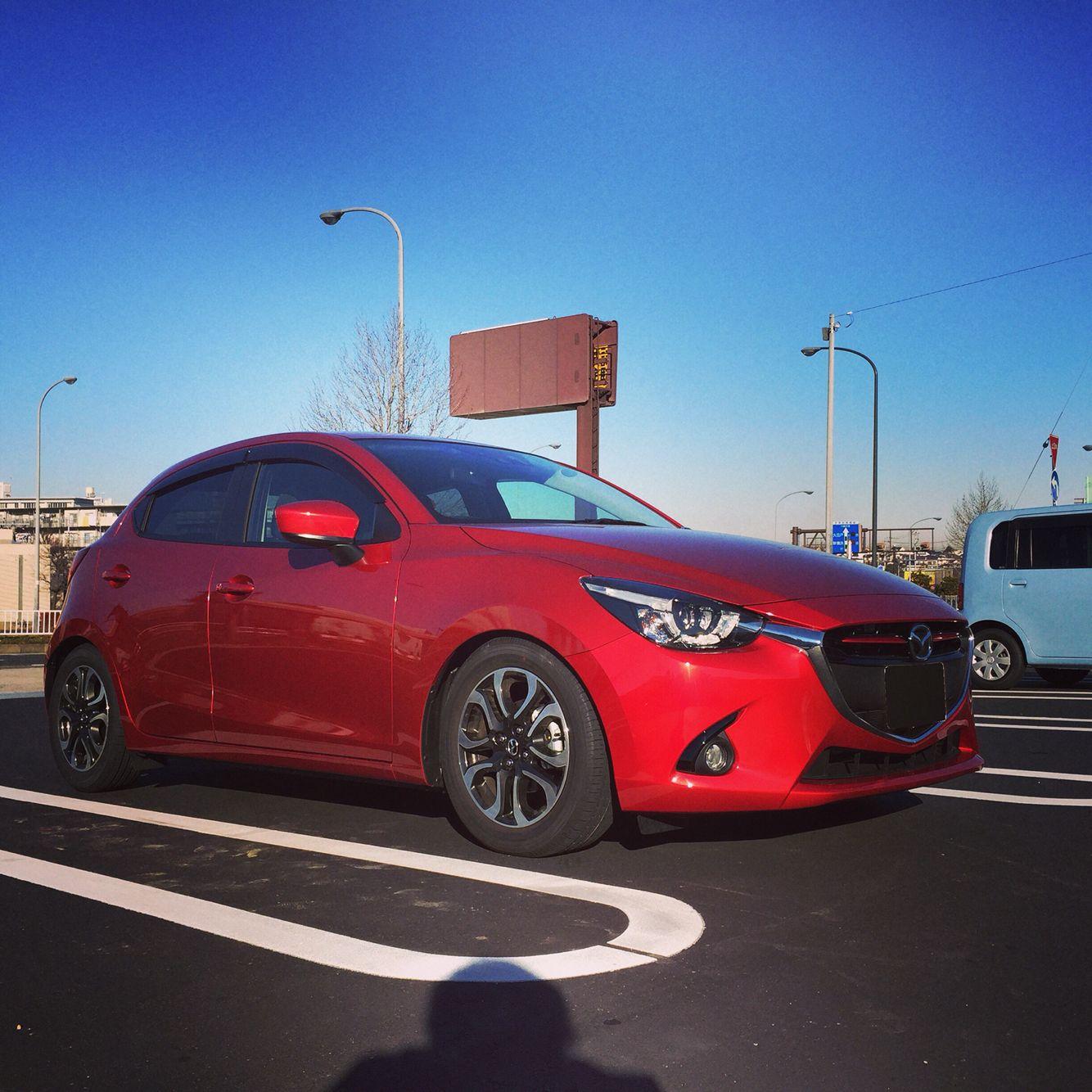 Mazda Demio Diesel Turbo Coilover Installed