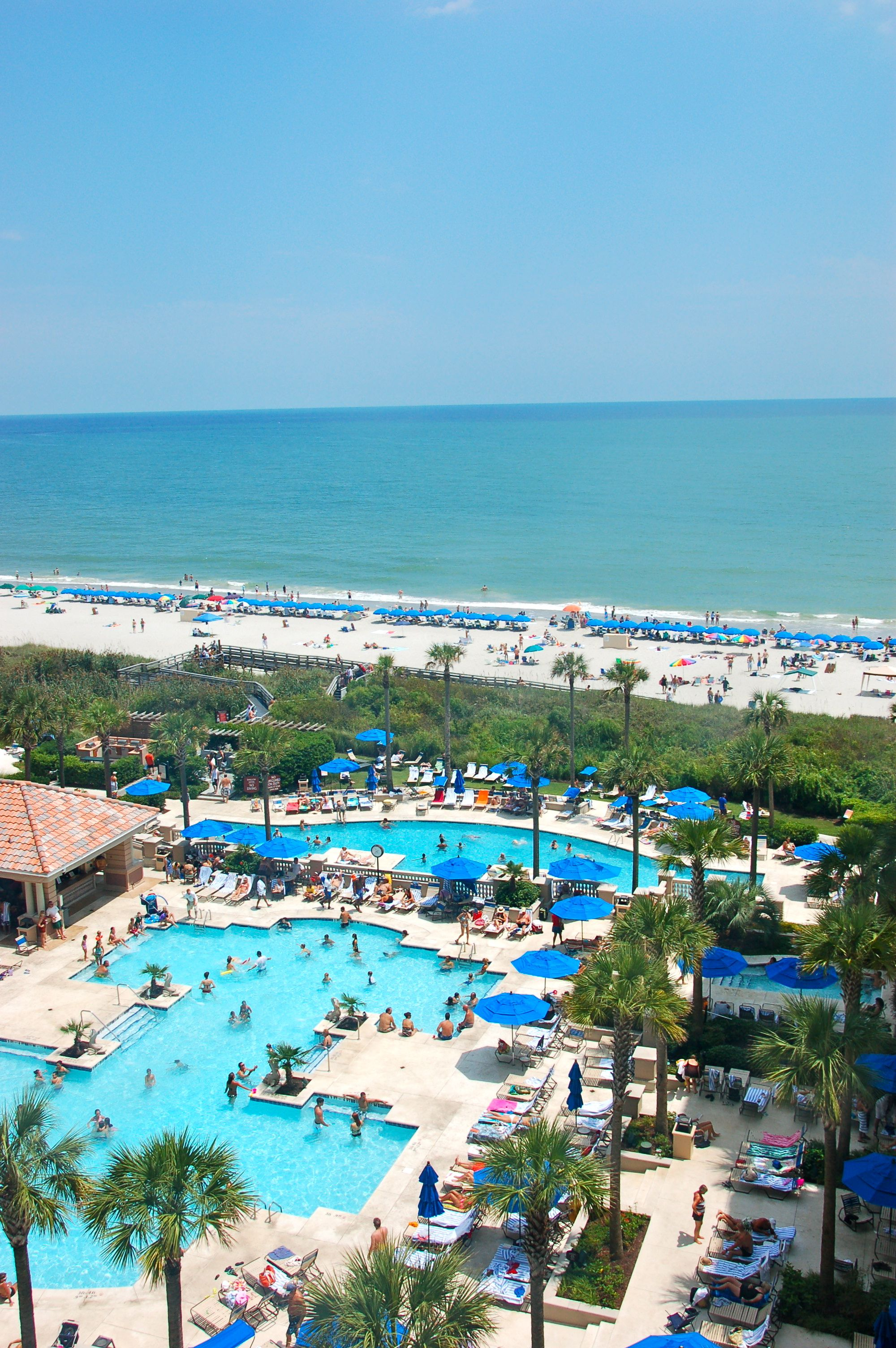 Marriott Resort And Spa At Grand Dunes Myrtle Beach South Carolina