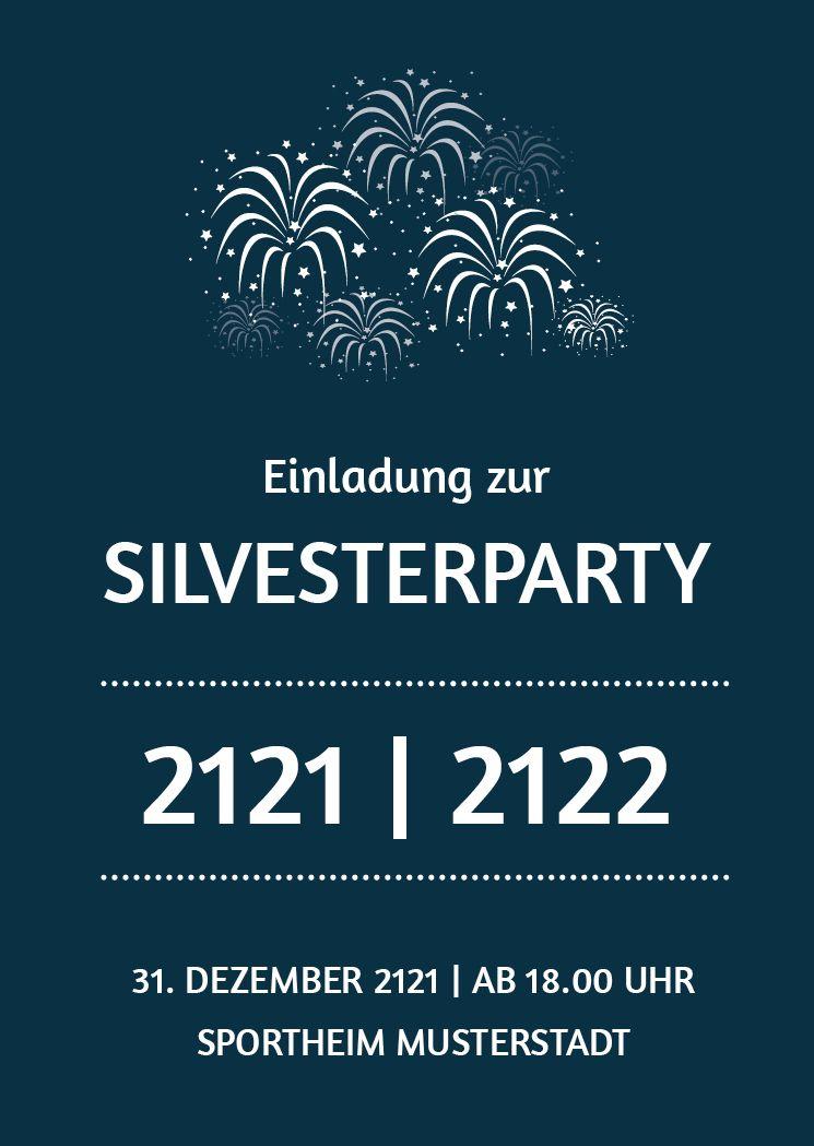Elegante Einladung Zur Silvesterparty Flyer Fur Silvesterparty Neujahrsparty Drucken Lassen Gunstig Silvesterparty Silvester Party Silvester
