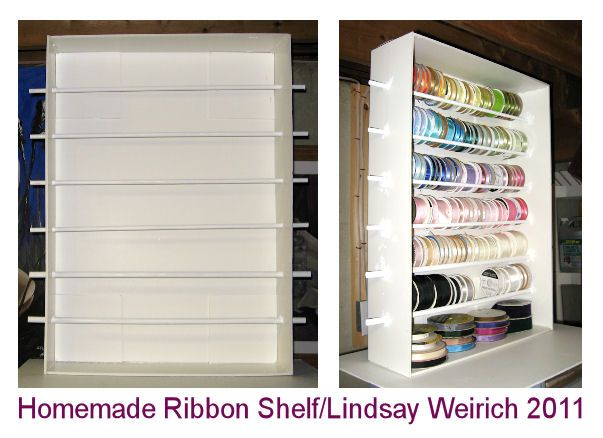 let s make a ribbon shelf crafting foam core projects rh pinterest com