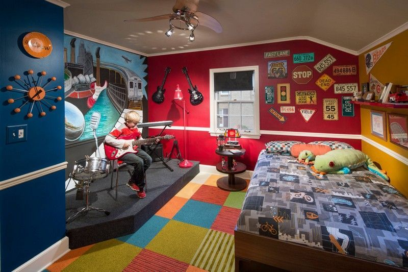 Déco chambre enfant: 50 idées cool pour enjoliver les murs ...