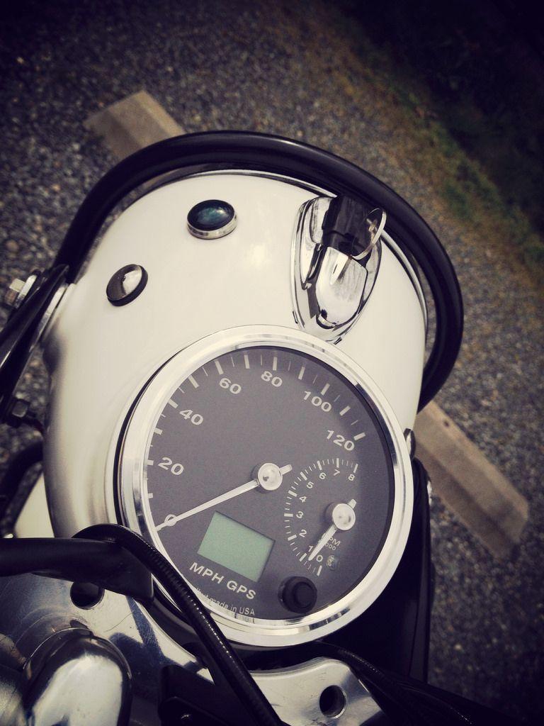 Bmw r75/5 speedhut gps speedometer | BMW Airhead Motorcycles