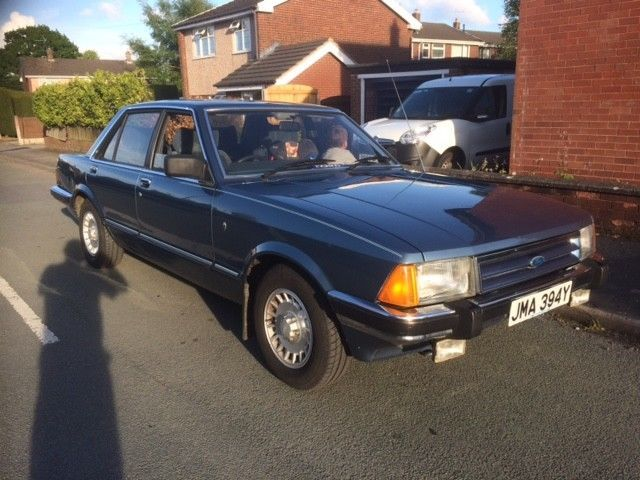 Check Out This Classic Ford Ford Granada Mk2 2 8 Ghia X With Only