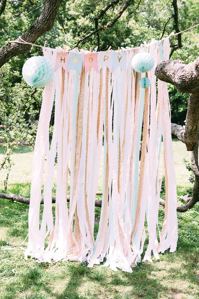 Photo Booth DIY! Party Tea party birthday Colorful