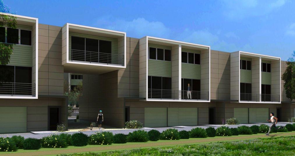 Impact Developers Skybridge Lofts Austin Modern Homes