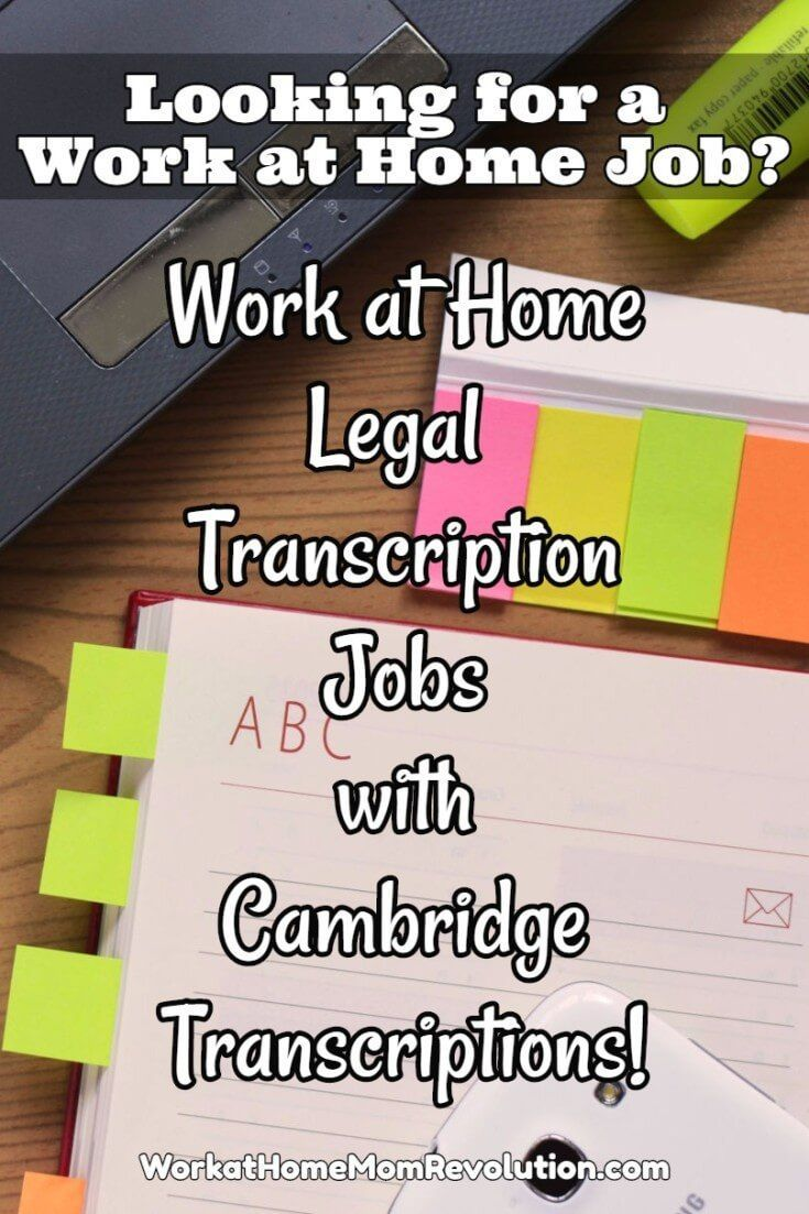Home-Based Transcription with Cambridge Transcriptions