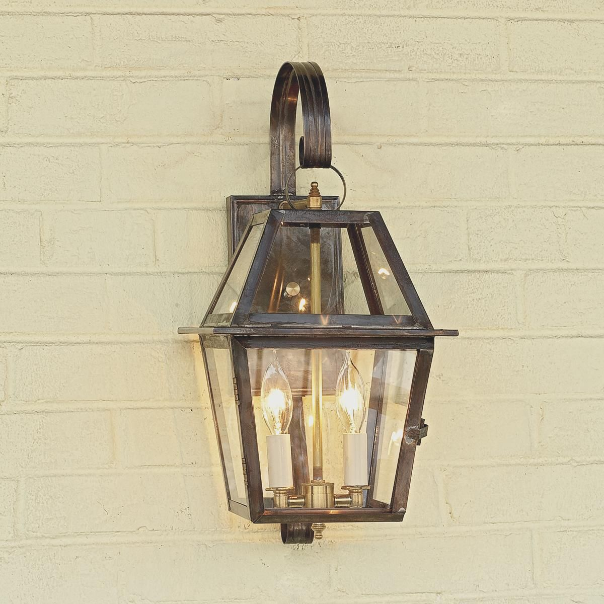 Brass Outdoor Garage Lights: Richmond Outdoor Light