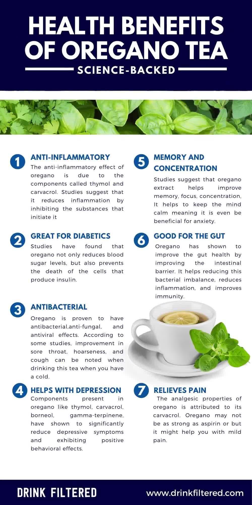 Photo of Benefits Of Oregano Tea