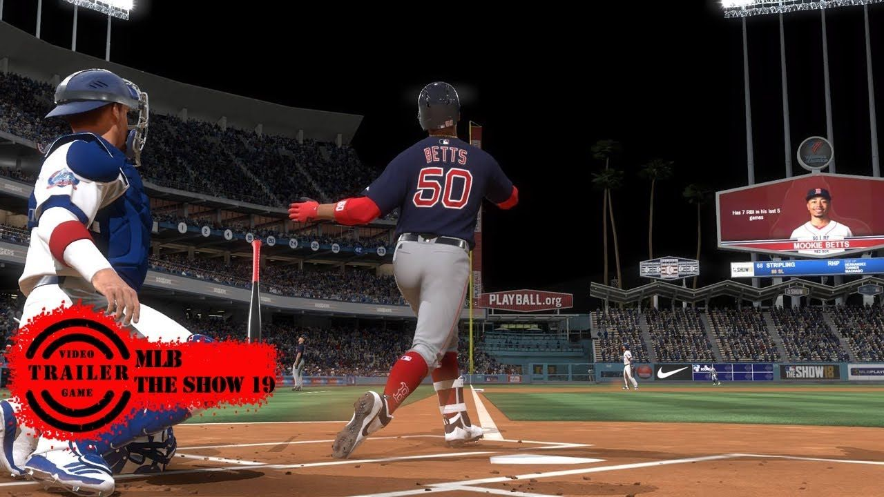 Mlb The Show 19 Trailer Mlb The Show 19 Features Show Coach Trailer Video Games Trailer Best Video Games 2019 Best Video Games 2020 Mlb The Show Sports Games