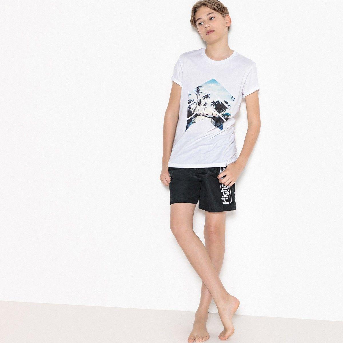 4664078d236a Printed Cotton T-Shirt