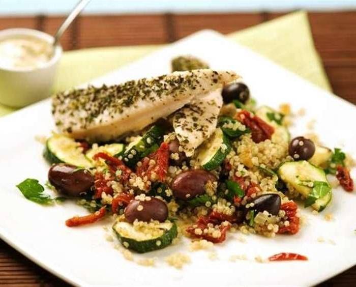 kyckling med quinoa