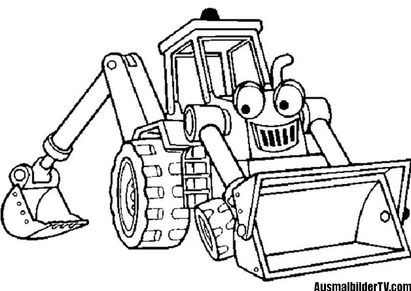 traktor ausmalbilder | ausmalbilder | Pinterest