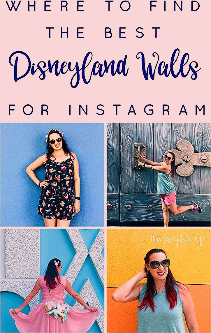 A Definitive Guide to Disneyland Wall Photo Spots - This Fairy Tale Life