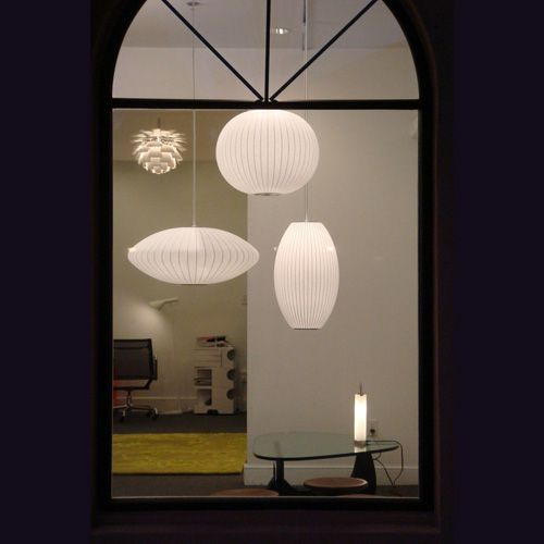 george nelson lighting. George Nelson Pendant Lamps By Modernica Lighting