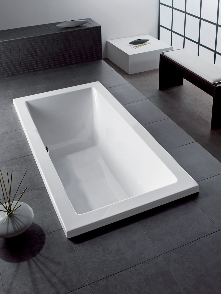 Hoesch | Scelta | 1800 Rectangle Inset Bath | bathrooms ...