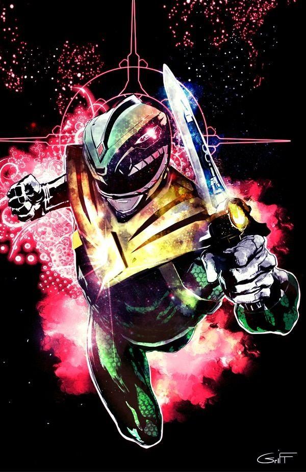 Green Ranger Art Power Rangers Art Green Ranger Power Rangers