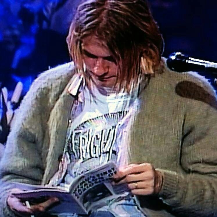 Today is the 20th anniversary of Nirvana Unplugged! Ima watching my DVD of it in honor of it's 20th birthday. c: